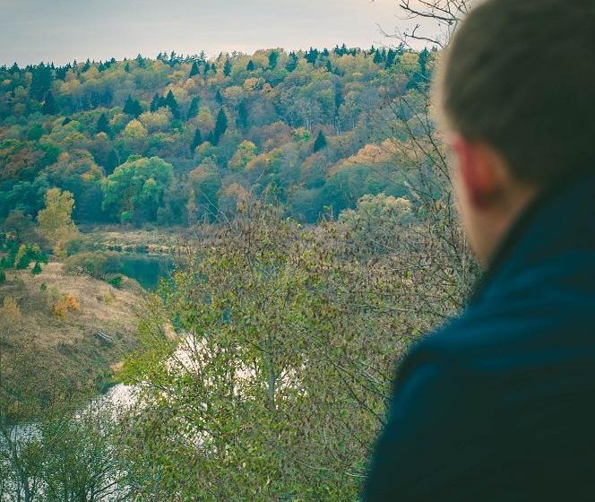 осенний пейзаж в николо-ленивце