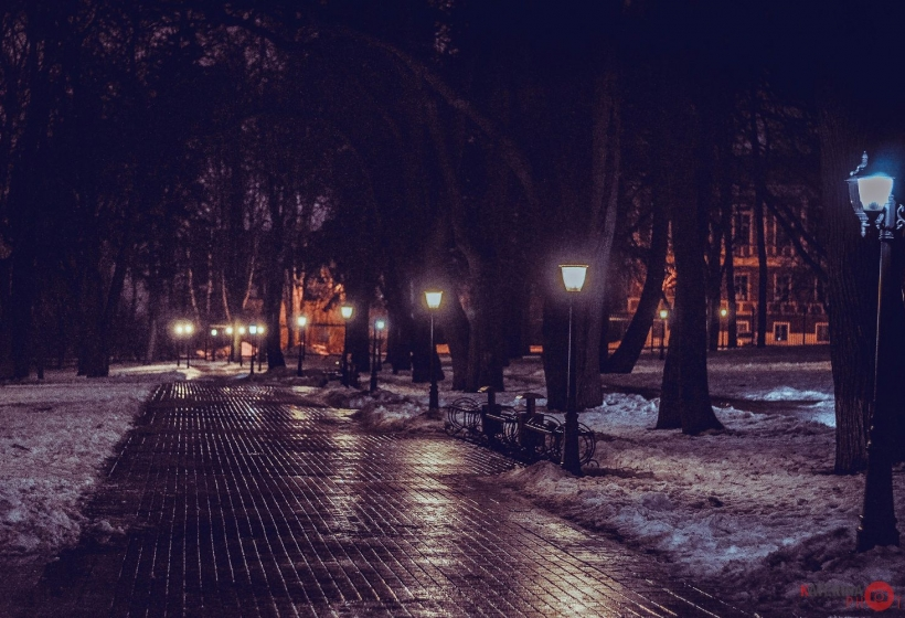 ночной парк калуги