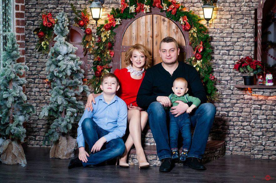 Фотосессии семьи в Калуге