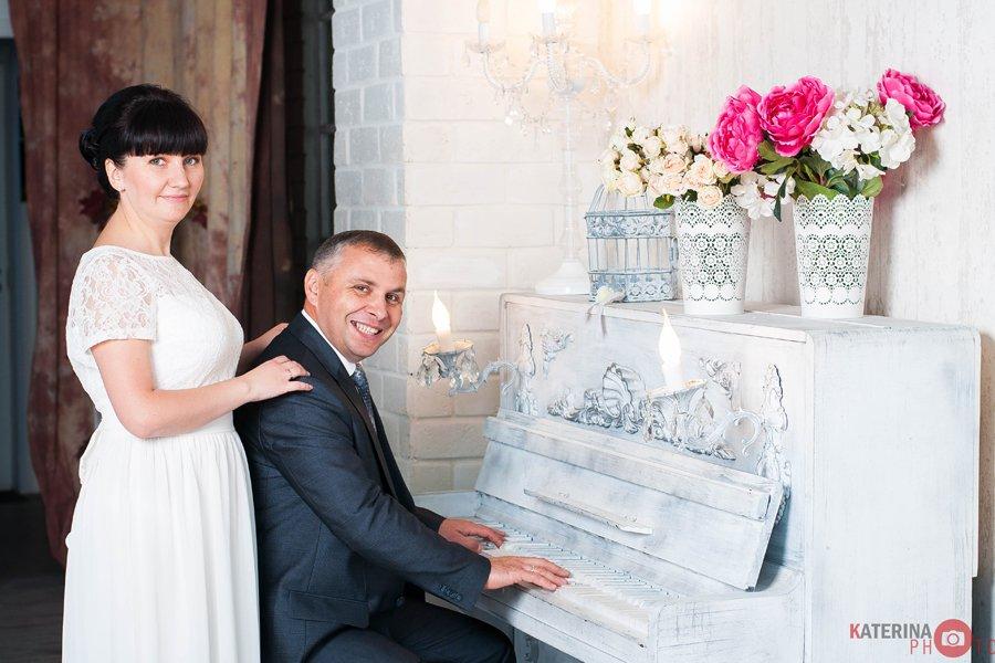 Студийная съемка свадьбы