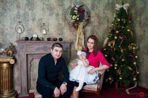 Новогодняя фотосессия в Калуге